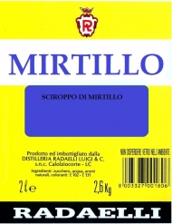 RADAELLI SCIROPPO MIRTILLO GR.2500 DOSE 1:4